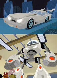Este vehiculo fué creado por el Profesor Utonium y en un ataque de celos, intento destruir a las PowerPuff Gilrs para quedarse solo con el Profesor. Powerpuff Girls, Wall Art, Jealousy, Wall Decor