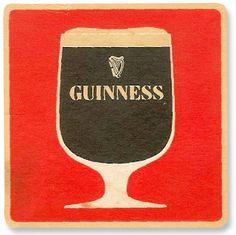 vintage Guinness coaster