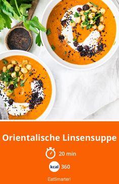 Oriental lentil soup - Recipes World Kumquat Recipes, Raw Food Recipes, Food Network Recipes, Soup Recipes, Slow Cooker Recipes, Diet Recipes, Lacto Vegetarian Diet, Starchy Foods, Nutrition