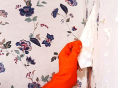 How to Remove Wallpaper Using Solvents or Steam - on HGTV