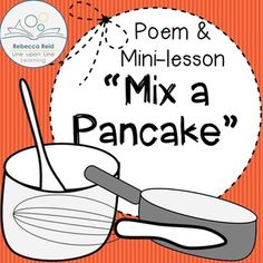 Mix a Pancake Poem FREEBIE from Rebecca Reid at Line upon Line Learning