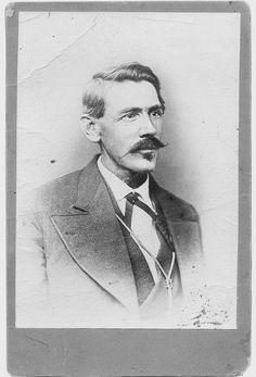 John Chisum, cattle tycoon.