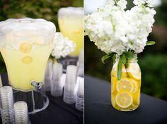 Lemonade Stand - Charmed Wedding Blog » A wedding blog with Southern charm.