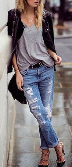 #Simple #Boots Great Street Style Shoes
