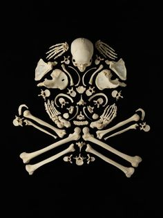"""skull and crossbones from the """"stop the violence"""" series by francois robert"""