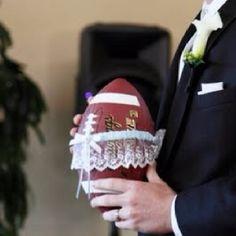 Football garter toss!