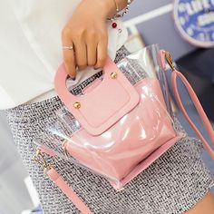 $16.87 (Buy here: https://alitems.com/g/1e8d114494ebda23ff8b16525dc3e8/?i=5&ulp=https%3A%2F%2Fwww.aliexpress.com%2Fitem%2F2016-Hot-Summer-Top-Handle-Bags-Clear-Transparent-Bags-Shoulder-Bag-Ladies-Messenger-Bag-Fashion-Tote%2F32664633608.html ) 2016 Hot Summer Top-Handle Bags Clear Transparent Bags Shoulder Bag Ladies Messenger Bag Fashion Tote Handbags for just $16.87