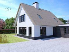 Ontwerp 44 | Visualisaties | Onze huizen | Presolid Home Future House, Garage Doors, Shed, Villa, Outdoor Structures, Exterior, House Design, Nice, Garden