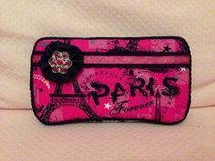 Hot Pink Paris Boutique Baby Travel Wipe Case on Etsy, $14.00