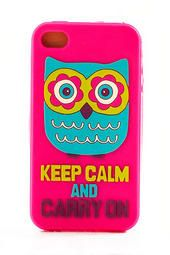 Natural Life Owl iPhone 4 Cover
