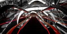 Escalator by Julian Wagner on 500px