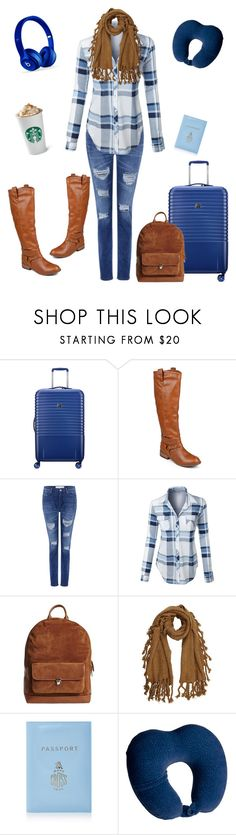 """travelling"" by ashley-andreasen ❤ liked on Polyvore featuring Delsey, Journee Collection, IRO, LE3NO, Timo Weiland, Mark Cross, Conair and Beats by Dr. Dre"
