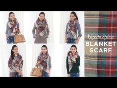 Lots of Ways To Wear A Blanket Scarf Without Looking Like You're Drowning In It | more.com