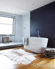 Luxe Contemporary Bathroom   Photo Gallery: Modern Bathrooms   House & Home   Photo by Ashley Tonner