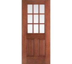 The therma tru smooth star 3 4 lite 2 panel door pairs for Therma tru fiber classic mahogany price