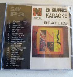 Beatles hits Karaoke cdg disc new and sealed Penny lane, Get Back,Girl 19 songs…