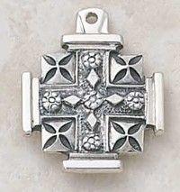 Jerusalem Cross Jerusalem Cross, Crucifix, Crosses, Equestrian, Decorative Boxes, Bob, Bling, Symbols, Jewelry