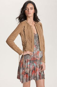 Haute Hippie Saddle Stitched Jacket