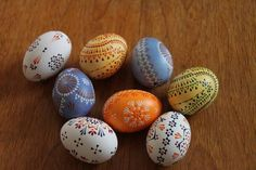 Sorbian easter eggs - with quick how-to - OCCASIONS AND HOLIDAYS