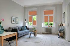Lovely Plissee Wohnzimmer Fensterdeko modern