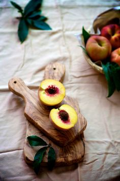 can't wait for summer when my two all time favorite fruits, peaches and cherries, are in season!!!