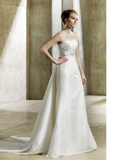 Modeca Wedding Dresses Netty $416.82 #bridal gown #wedding #modeca #bridal #my wedding #wedding dress #dresses #netty
