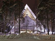 The modern church of Hyvinkää