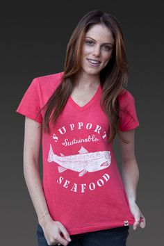 support sustainable seafood. organic cotton. united by blue.