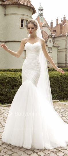 Vestido de novia corte sirena | bodatotal.com | wedding dress, mermaid cut, bride, novia, bodas