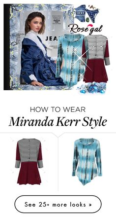 """""""Rosegal  29"""" by melikasalkic on Polyvore featuring Kerr®"""