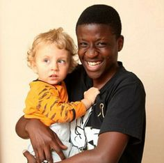 A brave 16-year-old boy, Nelson Fonangwan, in Southampton, Hampshire in the United Kingdom risked his own life after running in a burning home to save a 2-year-old boy, Adam, his next door neighbor. The boy suffered no injuries. Originally from Cameroon, Fonangwan is studying to be a nurse.