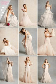 Monique Lhuillier's Bliss Collection, Spring This means affordable Lhuillier! Monique Lhuillier is one of my all time favorites. Stunning Wedding Dresses, 2015 Wedding Dresses, Wedding Attire, Wedding Bride, Wedding Gowns, Bridesmaid Dresses, Prom Gowns, Monique Lhuillier, Dream Dress