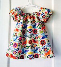 La Paloma Tunic Bird Shirt Girls Toddlers Baby by HazelsThreads