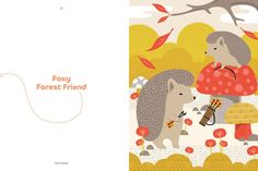 Woodland friends: Is it a picture book or 20 adorable prints ready for framing? Your choice!