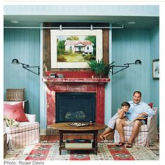 Living room. Southern Living