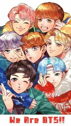 Bts fan art / ship · véi, que lindo! Anime Cosplay, Bts Anime, Anime Naruto, Bts Jimin, Bts Taehyung, Bts Chibi, Anime Angel, Foto Bts, Namjoon