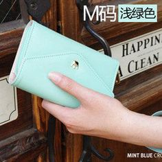 Crown Smart Pouch Girls Love Wallet Mobile phone Bag Case For Sony Xperia M2 S50H Xperia T2 Ultra Xperia Z2 L50w Xperia Z1 Mini-in Phone Bag...