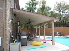 Wood Solid Patio Cover Designs | ... Lumber, Aluminum And Pattern Patio  Covers