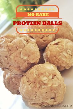 I made these using Walden Farms Pancake Syrup instead of honey to cut down on the sugar. Yum! strong brees: No Bake Protein Balls
