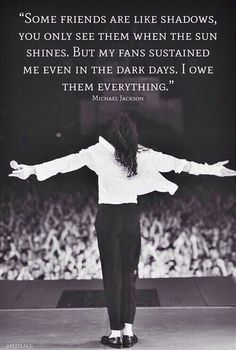 He loved his MJFam so much. And he knew perfectly well he could rely on us - whatever happens - we won't let go off his hand. <3