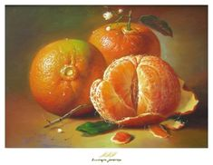 Realistic Oil Painting, Fruit Painting, Still Life Drawing, Still Life Art, Vegetable Painting, Still Life Photos, Nature Drawing, Fruit Art, Still Life Photography