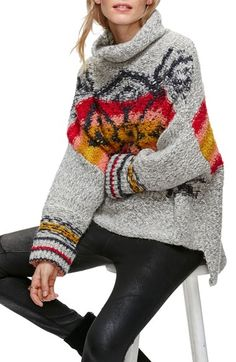 Free People Arctic Blast Pullover available at #Nordstrom