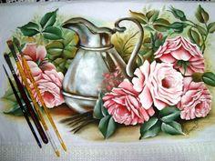 pintura em tecido porcelanizada - Pesquisa Google