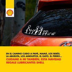 Protejo no solo a tu vehículo. El mejor regalo... #lubricabtesshell #feduro