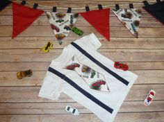 Toddler Boys T Shirt with Tie Suspenders and a  by sewsueprops, $40.00