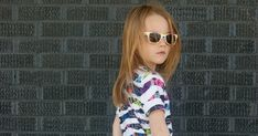 Free Hi-Low tee sewing pattern for sizes 12 months to 12 years