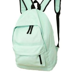 f0fe3c770507 Simple Pure Color Solid Student Rucksack School Bag For Girl Canvas  Backpacks just  28.99