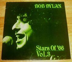 BOB DYLAN Stars of  66 volume 3 *rare* 2-LP import live 1966 Melbourne vinyl vol