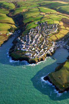 Port Isaac, North Cornwall, UK