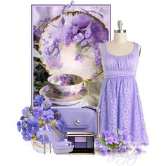 """~Lovely in Lavender~"" by tammynky on Polyvore"